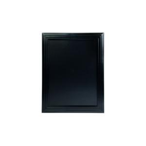 Kreidetafel mit Holzrahmen schwarz, 40x50cm, zum aufhängen