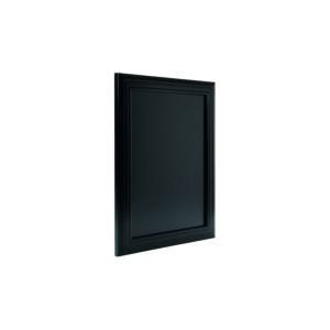 Kreidetafel mit schwarzem Holzrahmen, 40x50cm, Securit