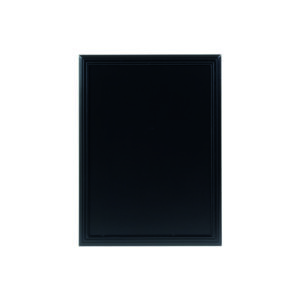 Wetterfeste Kreidetafel der Marke Securit, schwarz, 60x80cm