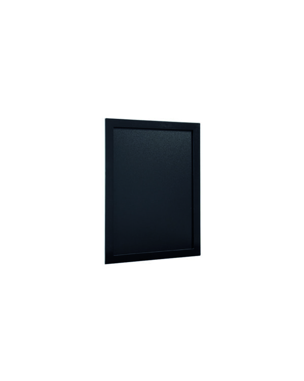 Günstige Kreidetafel schwarz, 30x40cm, Securit, Seitenansicht