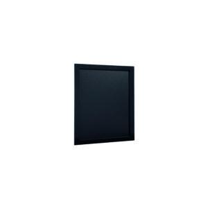 Kreidetafel Budget 20x24cm, schwarz, mit Holzrahmen