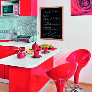 Wandkreidetafel für Zuhause oder Restaurants und Bars, Hellbraun, 40x60cm