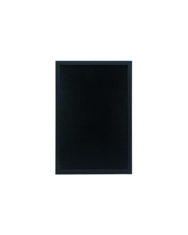 schwarze Kreidetafel aus Holz mit Holzrahmen, 40x60cm, geeignet für Bars