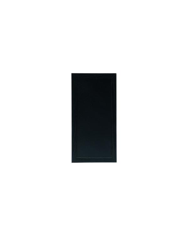schwarze Kreidetafel mit Holzrahmen, 20x40cm, zum Aufhängen in Bars
