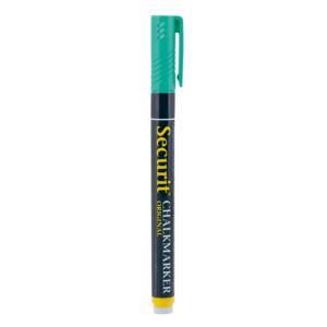 Kreidemarker grün mit 1-2mm Spitze zum Schreiben, Kreidestift grün geeignet für das Beschriftgen von Kreidetalfen, Glas und Boards