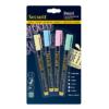 farbige Securit Kreidemarker Pastellfarben, 1-2mm Strichbreite, abwischbare Kreidestifte