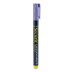 violetter Kreidemarker Securit passend für das Beschriften von Kreidetafeln, Kundenstopper und Wandtafeln