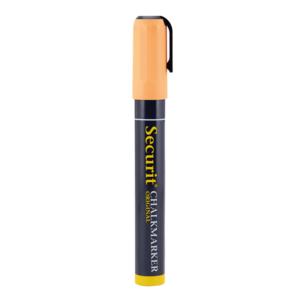 Orange Tropische Kreidemarker für die Beschriftung von Gastro Kreidetafeln, 2-6mm Kreidestift von der Marke Securit in Orange