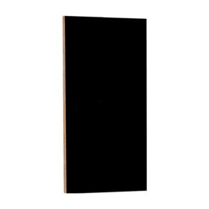 Rahmenlose Kreidetafel schwarz 60x115cm, Kreidetafel ohne Rahmen im Format 60x115cm zum Aufhängen mit Hacken
