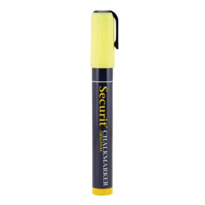 Securit Kreidemarker gelb mit 2-6mm Schreibdicke, gelber dicker Kreidestift für Kreidetafeln und Wandtafeln, gelber Kreidemarker günstig kaufen