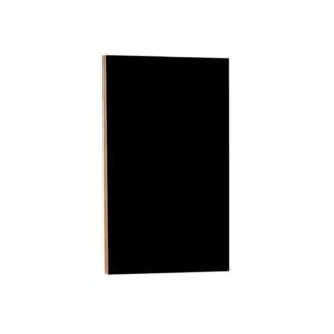 schwarze Kreidetafel ohne Rahmen zum Aufhängen in Bars und Restaurants, rahmenlose Wand Kreidetafel in schwarz