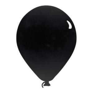 Ballon Kreidetafel Silhouette zum Beschriften mit Kreidemarker für Feste, Geburtstage, Partys oder Zuhause