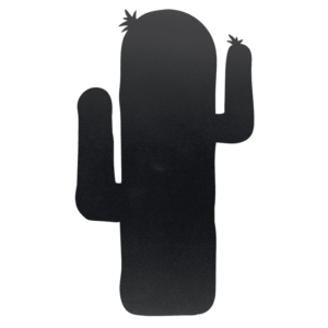 Kreidetafel in Kaktusform Silhouette zum Aufhänge Zuhause oder bei der Arbeit, lustige Kreidetafel Silhouette Kaktus