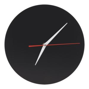 Kreidetafel ohne Rahmen in Uhrenform, Uhr Kreidetafel schwarz rahmenlos