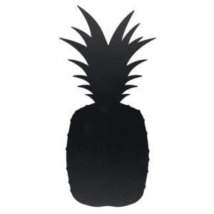 schwarze Kreidetafel Ananasform Silhouette für Home and Business, Ananas Kreidetafel für Gemüseläden und Hofläden