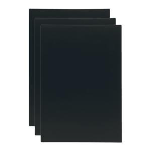 A5 Ersatztafeln für Tischkreidetafel Aufsteller mit austauschbarer Tafel, Securit Ersatzkreidetafeln 3er Set
