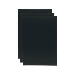 Ersatztafeln für Tischkreidetafel Aufsteller DIN A6, Securit Ersatztafeln für Tischaufsteller 3er-Set