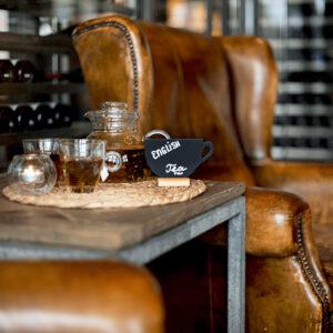 Kaffeetasse Tisch Kreidetafel Aufsteller für Kaffees, Bars, Restaurants, etc.