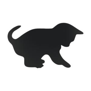 Katzen Kreidetafel Silhouette für das Bemalen mit Kreidemarker Securit