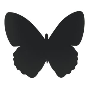 Kreidetafel Schmetterlings Form Silhouette ideal für Kinderzimmer oder allgemein Wandtafel-Dekoration