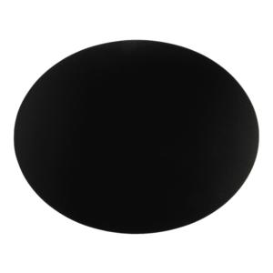 Ovale Kreidetafel ohne Rahmen für die Verwendung als Wandkreidetafel, Kreidetafel Silhouette oval für die Verwendung als Osterei oder als Preistafel