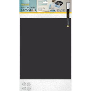 Silhouetten Kreidetafel rechteckig inkl. Wandmontage-Set und Kreidemarker weiss, Securit Silhouette Form Kreidetafel ohne Rahmen