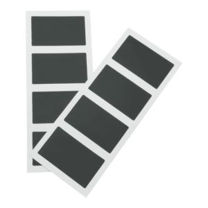 Tafelofolie Sticker recheckig zur Beschriftung mit Kreidemarker Securit
