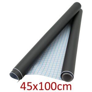 Wandtafelfolie schwarz selbstklebend Securit 45x100cm