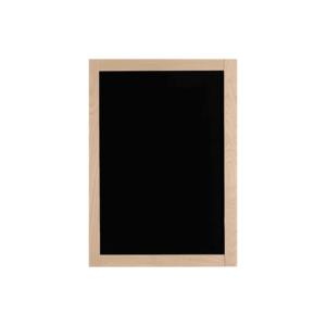 Holz Wand Kreidetafel mit Rahmen zum Aufhängen und Aufstellen, 40x60cm