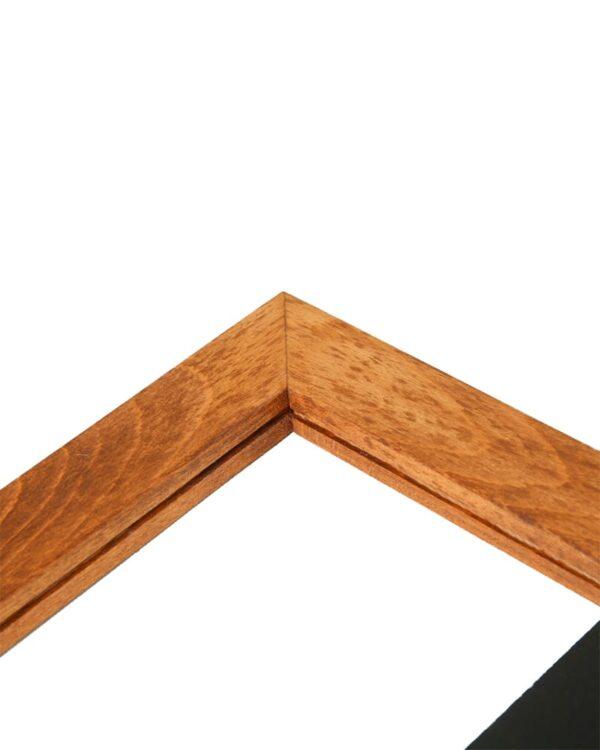 Slide Holzkreidetafel magnetisch
