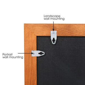 Wandkreidetafel magnetisch Aufhängeset