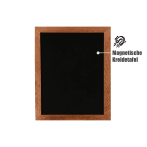 grosse Wandtafel magnetisch zum Schreiben mit Kreide und Kreidemarker, magnetische Schreibtafel für Wand