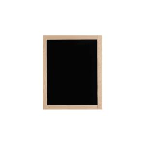 kleine Kreidetafel mit Holzrahmen in Buche beschriftbar mit Kreidemarker