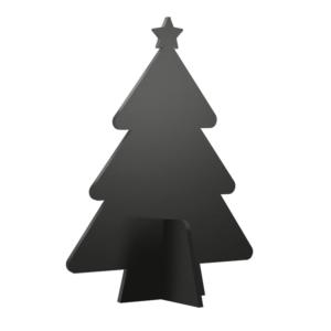 Weinachtsbaum Tischaufsteller Kreidetafel 3D von Securit zum Beschriften mit Kreidemarker, 3D Tischkreidetafel Dekoration