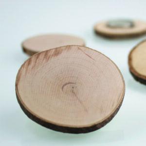 Holz Magnetscheibe für Pinnwände und magnetische Schiefertafeln