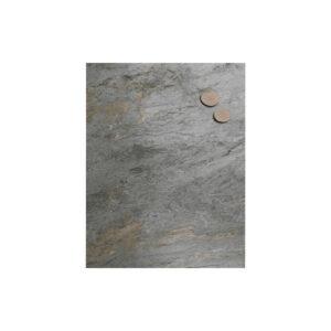 Magnettafel aus Schiefer Burning Forest im Format 40x61cm, magnetische Schiefer Wandkreidetafel Küche und Wohnraum