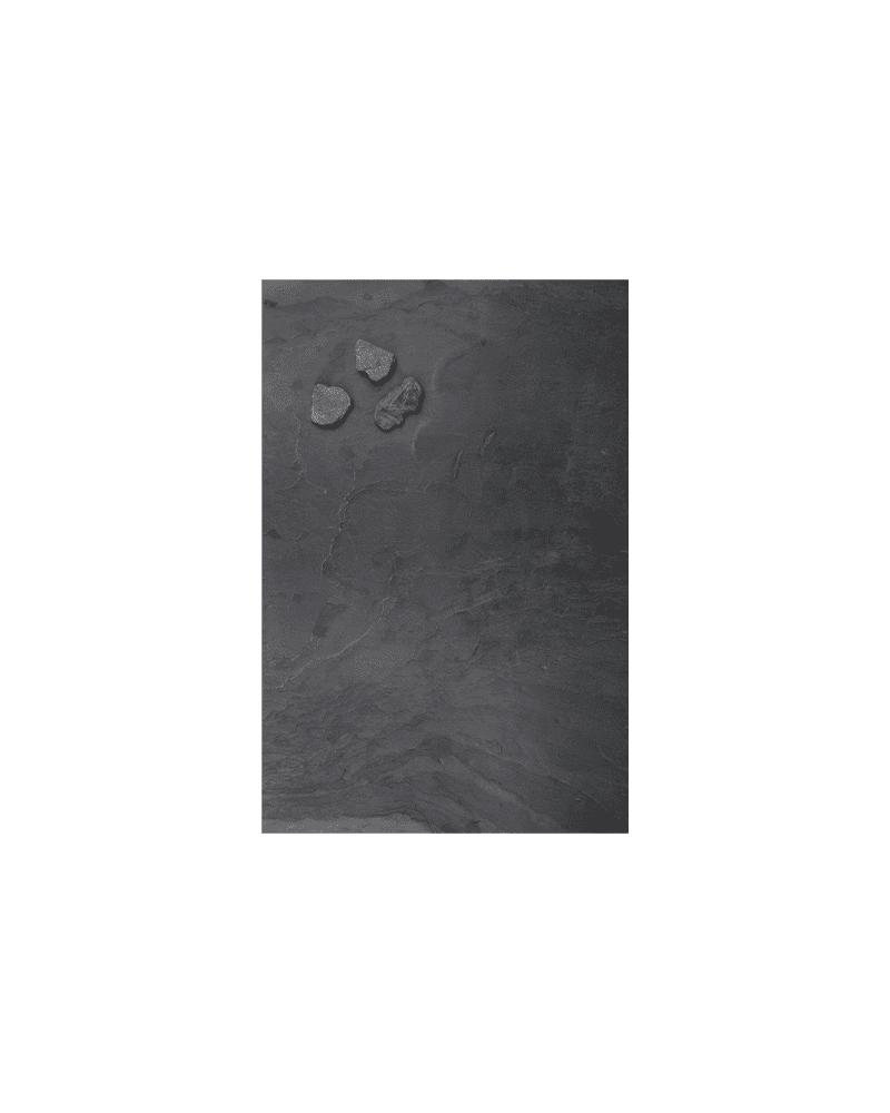 Schiefer Kreidetafel Anthrazit inklusive Steinmagnete für die Befestigung, 30x61cm