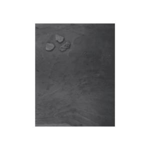 Schiefertafel Magnetboad in Anthrazit 61x80cm, grosse Wandkreidetafel aus echtem Schiefer magnetisch