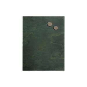 Schiefertafel magnetisch aus Grünschiefer im Format 40x61cm, magnetische Wandkreidetafel aus Echtschiefer