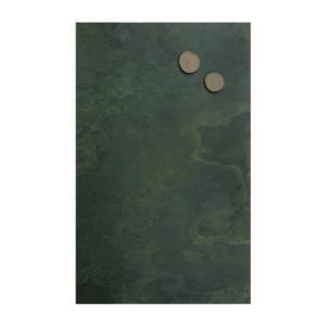 grosse Schieferkreidetafel magnetisch in grünem Schiefergestein, Schiefertafel magnetisch 61x120cm