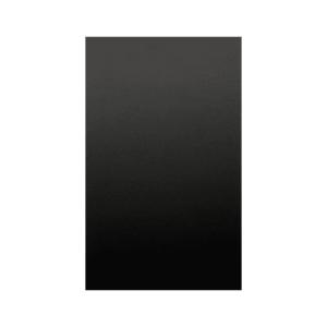 schwarze Wandkreidetafel magnetisch aus Metall beschriftbar mit Kreide, magnetische Kreidetafel ohne Rahmen, 50x100cm