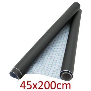 Kreidefolie schwarz selbstklebend 45x200cm