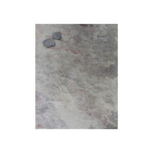 Kreidetafel magnetisch ohne Rahmen aus echtem Schiefer 61x80cm Schiefermuster Purple Grey