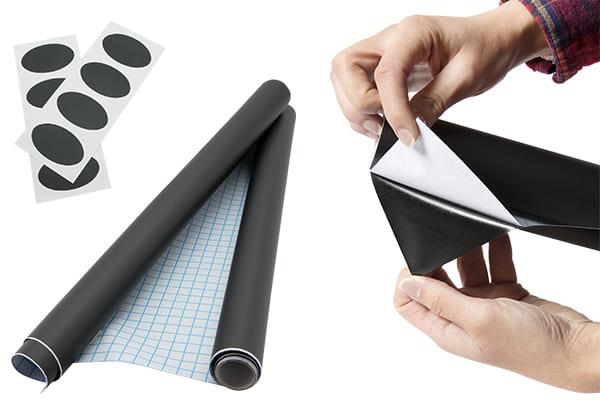 Kreidetafelfolie nach Mass oder zugeschnitten als Sticker, Kühlschrank Tafelfolie
