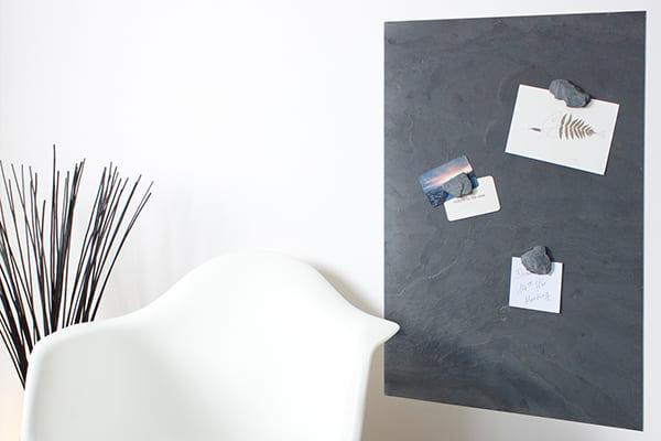 Kreidetafeln aus echtem Schiefer, magnetisch