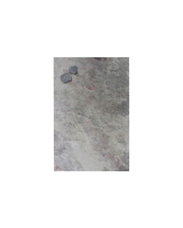 farbige Schiefer Kreidetafel magnetisch Purple Grey 30x61cm
