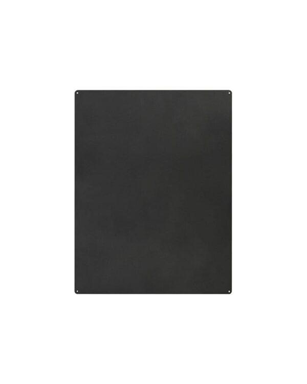 Aufhängbare Kreidetafel magnetisch schwarz ohne Rahmen Kalamitica 57x74cm