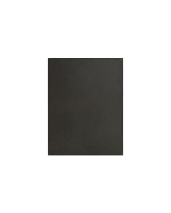 Kreidetafel ohne Rahmen magnetisch in Schwarz Kalamitica 38x56cm