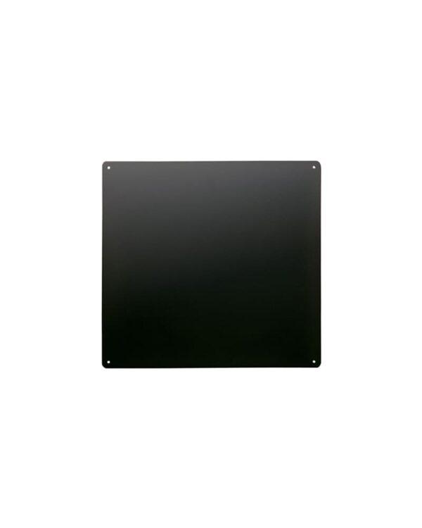 Magnetische Kreidetafel ohne Rahmen aus Stahl Kalamitica 33x33cm Schwarz