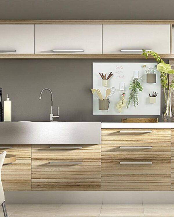 Magnettafel Küche beschriftbar mit Kreide & Kreidemarker 57x74cm
